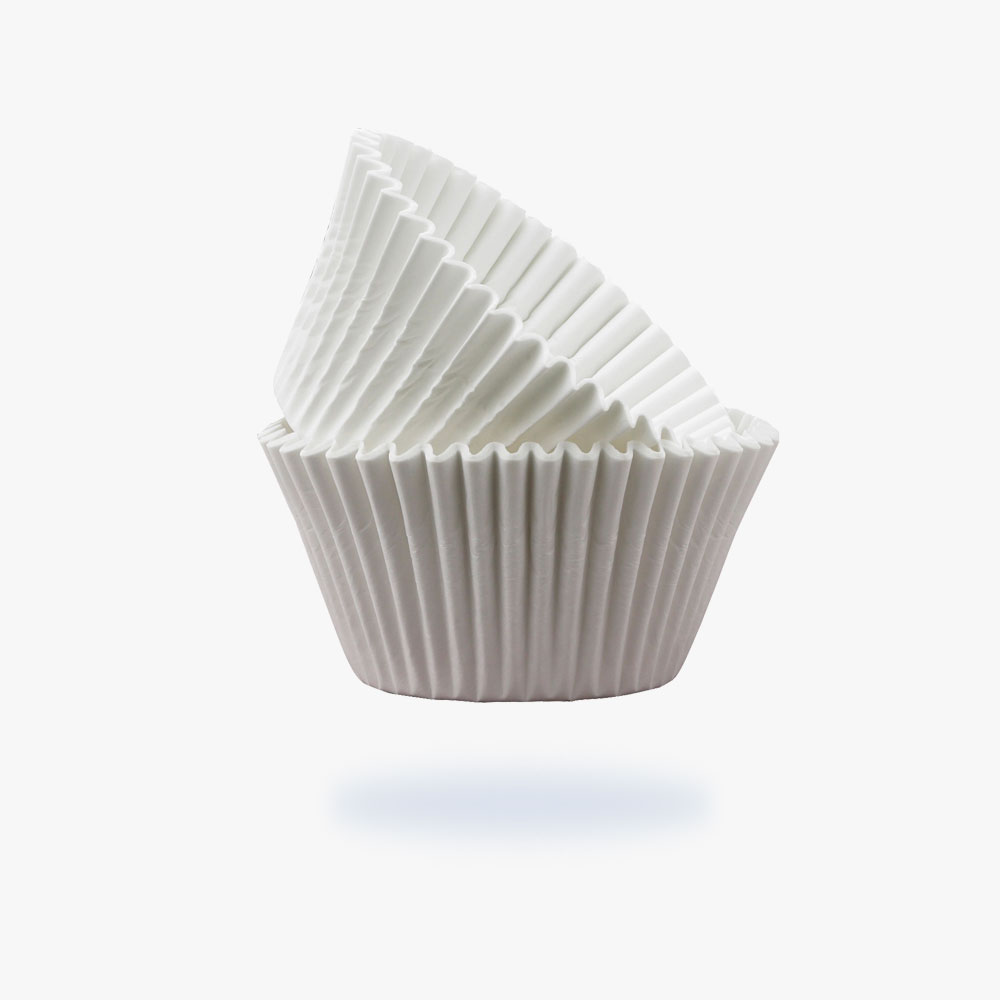 Fluted traditional muffin cups